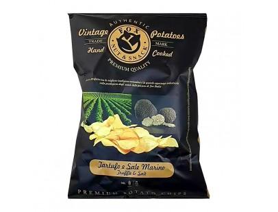 Fox Italia Hand Cooked Truffle and Salt Potato Chips 40g