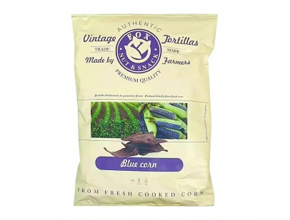 Fox Italia Hand Cooked Blue Corn Tortilla Chips 40g