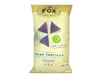 Fox Italia Hand Cooked Blue Corn Tortilla Chips 300g