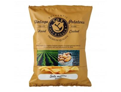 Fox Italia Hand Cooked Sea Salt Potato Chips 40g
