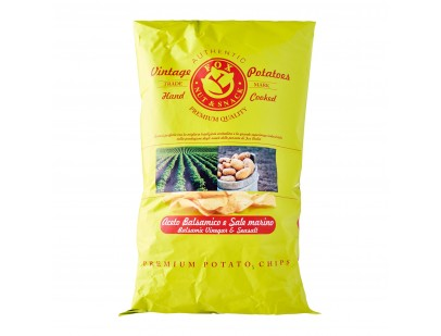 Fox Italia Hand Cooked Balsamic Vinegar and Sea Salt Potato Chips 300g