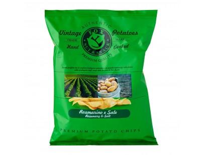 Fox Italia Hand Cooked Rosemary and Salt Potato Chips 300g