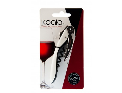Koala High Tech Wine Opener - White - Corkscrew
