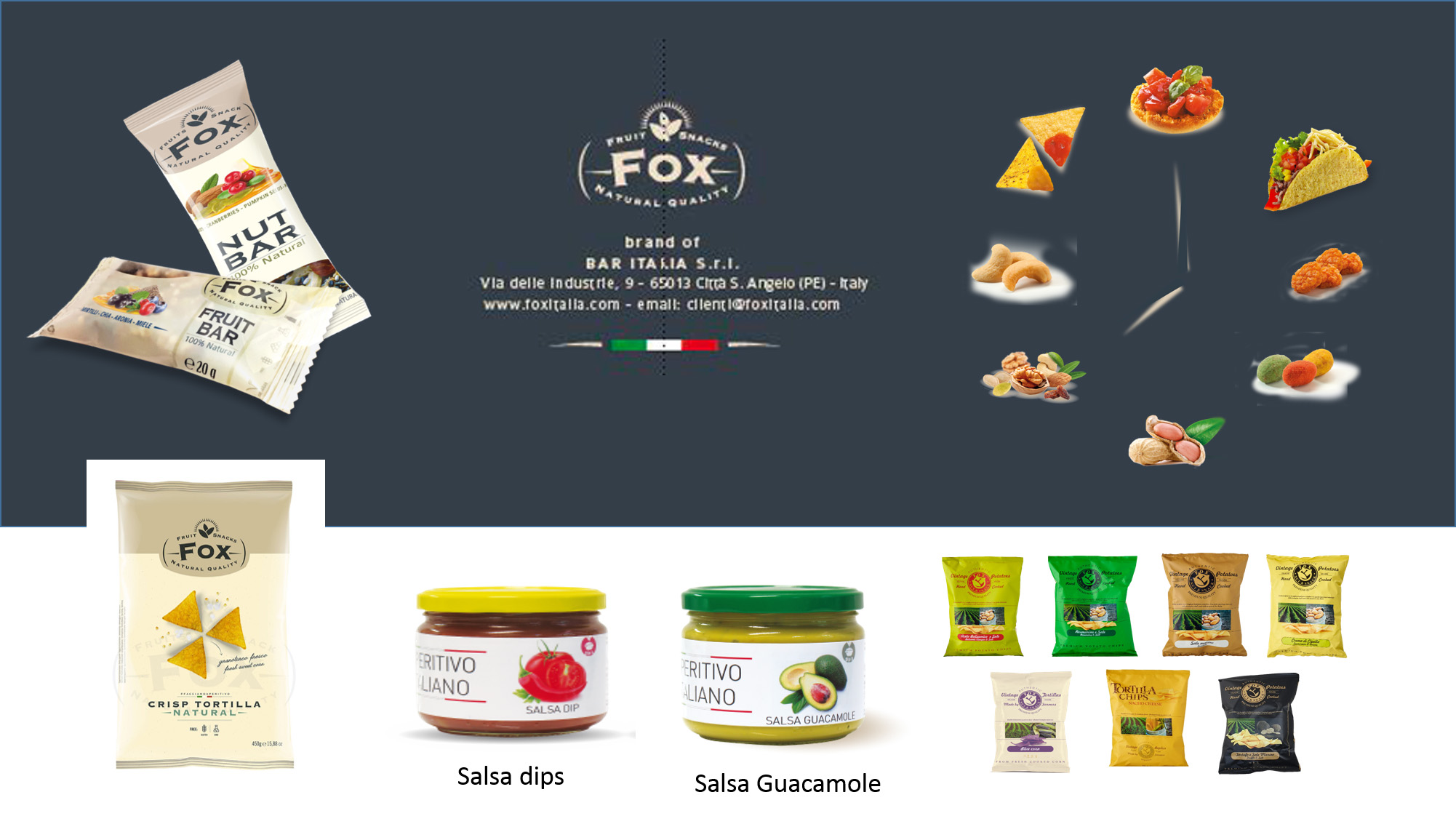 Fox Italia - Premium Snack and Gourmet Food